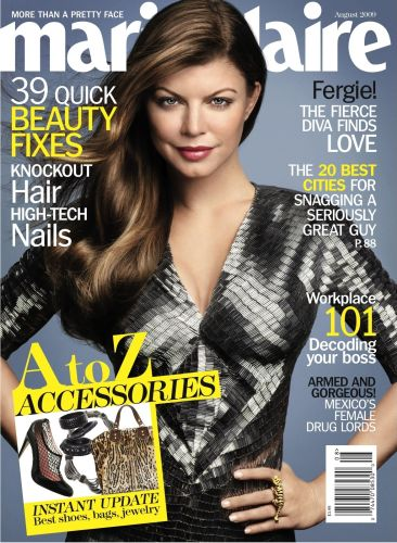 Fergie for Marie Claire