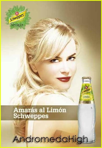 Nicole Kidman for Schweppes Spirit