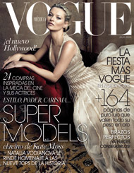 Kate Moss by Annie Leibovitz