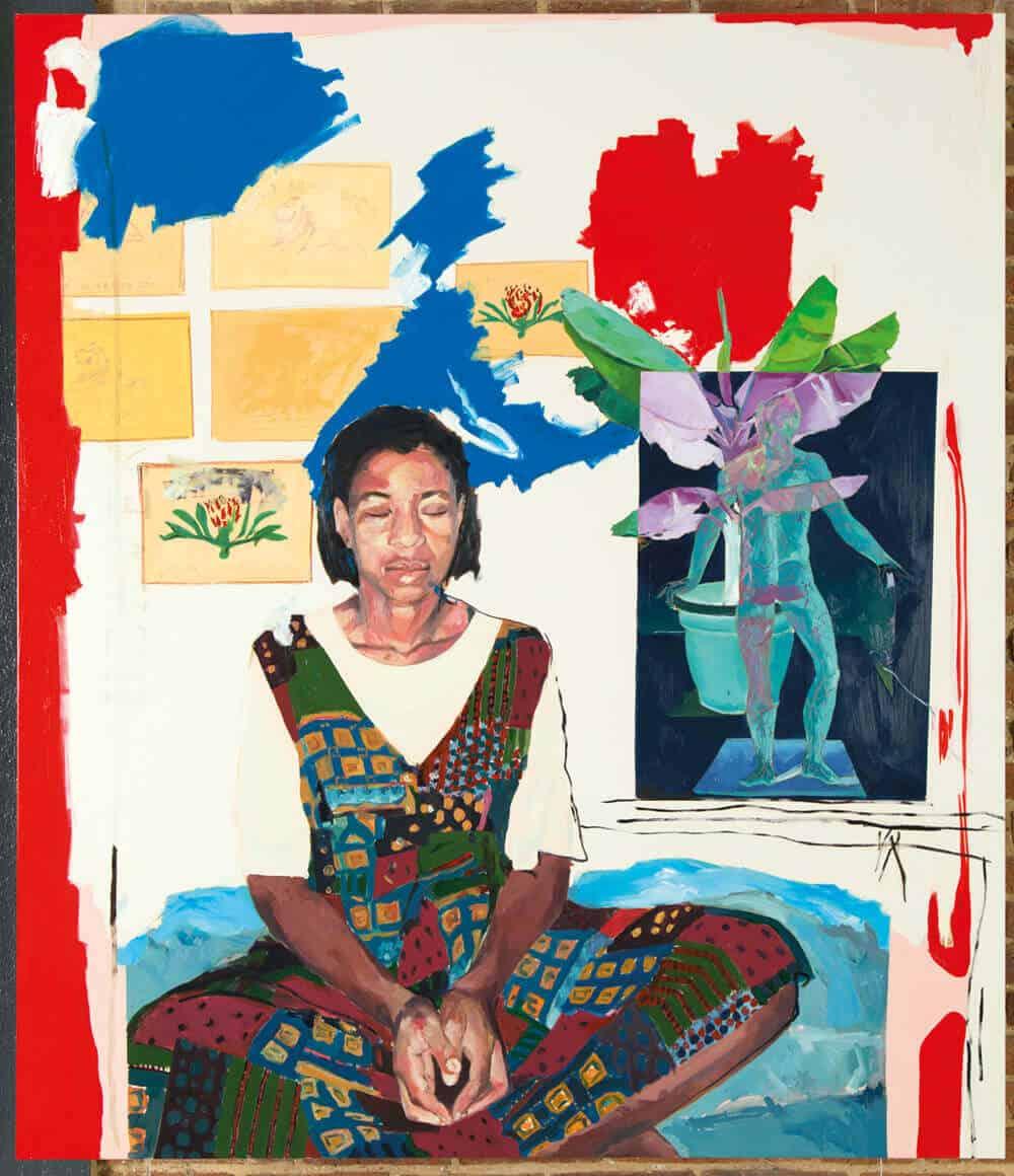 Kudzabai Violet Hwami, Lotus, 2018.