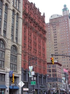 Potter Building, Beaux Arts style in fire proof terracotta