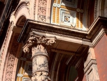 the Henry Cole Building at Victoria &Albert Museum, London
