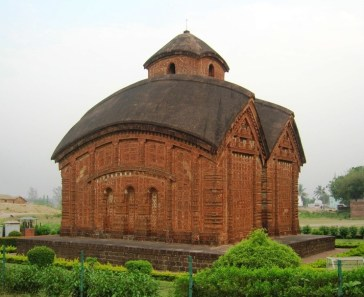 Jor Bangla Temple at West Bengal