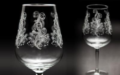 Engraving and Etching Glass at Artals Promotions in Kitchener Waterloo