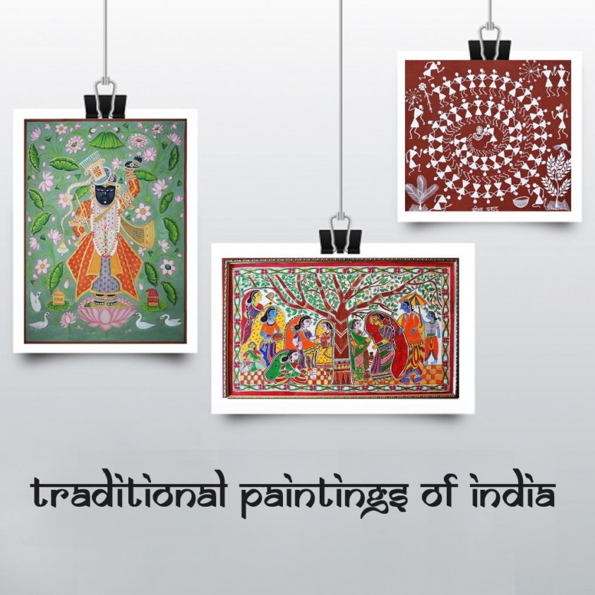 Original Paintings Of India traditional style