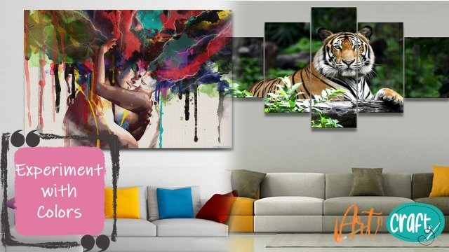 Experiment with colours-home decor ideas