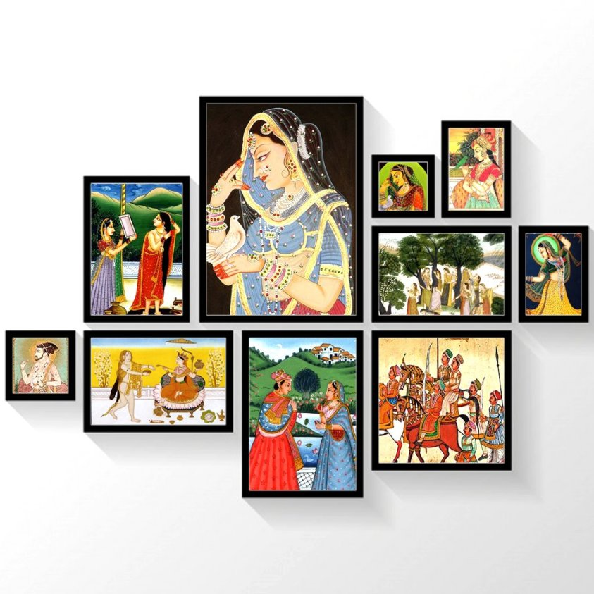 Indian Painting style and history