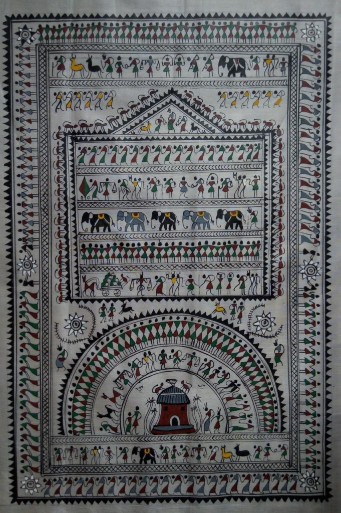 Pattachitra style of painting is one of the oldest and most popular art forms practiced majorly in Odisha and West Bengal
