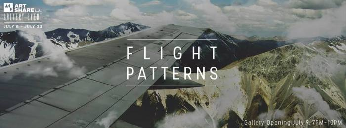 Flight Patterns - Gallery Opening at Art Share L.A.