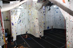 Stronghold Climbing Gym. Brewery Artwalk 2016