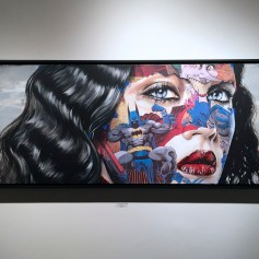 LA CAGE, CET ENDROIT EST TA DEMEURE, Sandra Chevrier ©2016 Thinkspace Gallery, Photo credit- JulieFaith, All rights reserved.