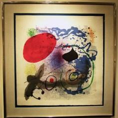 Joan Miro / 'Battement II'. Photo Credit Patrick Quinn
