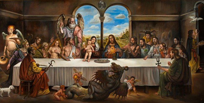 """The Last Supper"" By Christopher Ulrich Photo Courtesy of Gregorio Escalante Gallery"