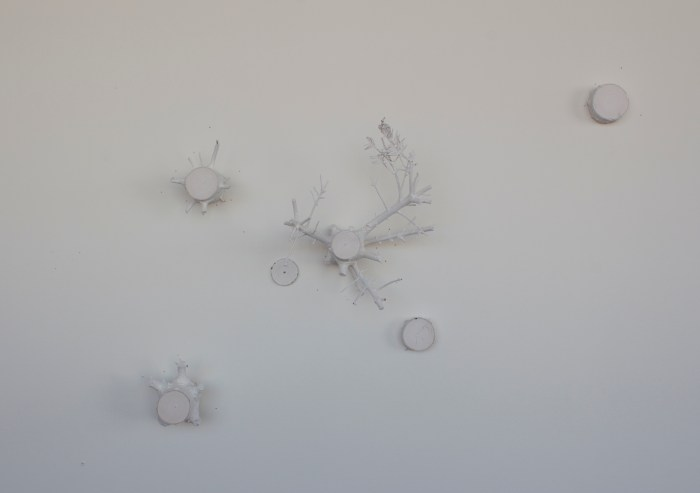 Andre Yi, Tree Cosmos Installation, dimensions variable, 2016 Mr. & Mrs. Exquisite Corpse Samantha Fields and Andre Yi Another Year in LA Photo Courtesy Of The Artists