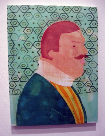 """""""Simply Broke My Neck"""" Yes, Please, and Thank You Projects: New Paintings by Orkideh Torabi Photo Credit Patrick Quinn"""