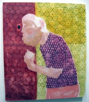 """""""There You Go"""" Yes, Please, and Thank You Projects: New Paintings by Orkideh Torabi Photo Credit Patrick Quinn"""