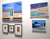 Andy Burgess. Palm Springs Art Fair 2017, February 16-18, 2017 at the Palm Springs Convention Center. Photo Credit Kristine Schomaker.