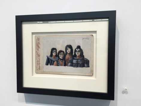 Alex Gross, Kiss, Corey Helford Gallery Photo credit- JulieFaith ©2017, All rights reserved.
