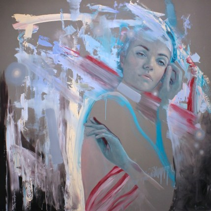 Meredith Marsone, Beautiful, Messy Me, Corey Helford Gallery Photo credit- JulieFaith ©2017, All rights reserved.
