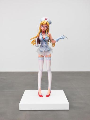 Creature. The Broad Museum. Nurse. Takashi Murakami. Photo Courtesy of the Broad Museum.