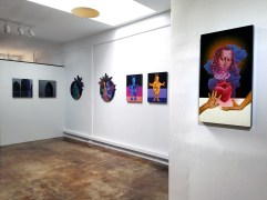 Dialogs with the Future. Robert Nelson. Brainworks Gallery. Photo Credit Kristine Schomaker