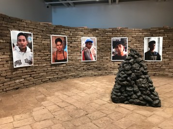 Rafa Esparza and Beatriz Cortez. 2017 Whitney Biennial. Whitney Museum of American Art, New York City, New York. Photo Credit Mario Vasquez.