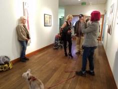 Personal Narrative. Artist Talk. Annenberg Community Beach House Gallery. Photo Credit Kristine Schomaker.