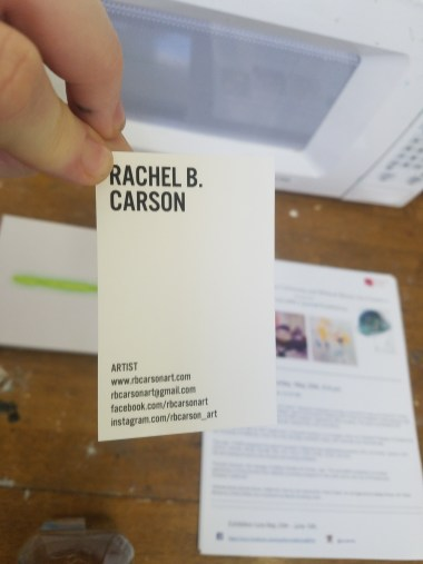 Rachel Carson. Claremont Graduate University MFA Open Studios. Photo Credit Jacqueline Bell Johnson.