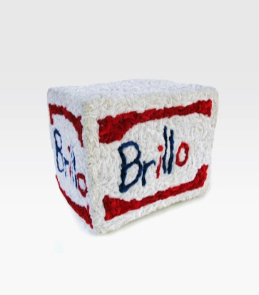 """Brillo Box pipe cleaners 15"""" x 13"""" x 11"""" 2010. Don Procella. Everything Must Go. Noysky Projects. Photo Courtesy of Noysky Projects."""