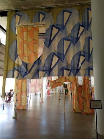 "Carmen Argote. California-Pacific Triennial, ""Building as Ever,"" curated by Cassandra Coblentz, at the Orange County Museum of Art, Newport Beach, California. Photo Credit Kristine Schomaker."