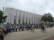 Parthenon of Books. Documenta 14. Photo Credit Jody Zellen.