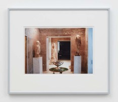 """William E. Jones """"Villa Iolas (Antiquities, Silver Bowl),"""" 1982/2017 hand-coated inkjet print 16 x 20 inches (40.6 x 50.8 cm) framed: 20 x 24 x 1 1/2 inches (50.8 x 61 x 3.8 cm) Edition of 6 with 2 AP Photography: Lee Thompson Courtesy of David Kordansky Gallery, Los Angeles, CA and The Modern Institute, Glasgow, Scotland"""