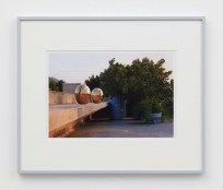 """William E. Jones """"Villa Iolas (Lucio Fontana),"""" 1982/2017 hand-coated inkjet print 16 x 20 inches (40.6 x 50.8 cm) framed: 20 x 24 x 1 1/2 inches (50.8 x 61 x 3.8 cm) Edition of 6 with 2 AP Photography: Lee Thompson Courtesy of David Kordansky Gallery, Los Angeles, CA and The Modern Institute, Glasgow, Scotland"""