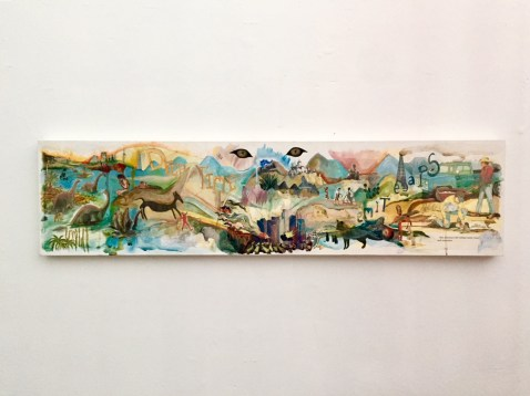 Amanda Yates Garcia. The Fourth World. Institute for Art and Olfaction. Photo Credit Shana Nys Dambrot.
