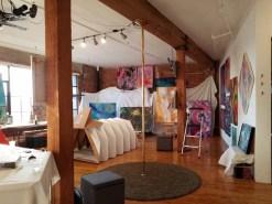 Lauren Fenstermacher. DTLA Long Beach Ave. Lofts Open Studios. Photo Credit Kristine Schomaker