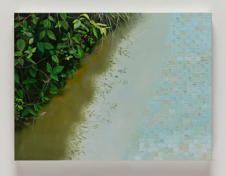 "Astrid Preston River's Edge, 2016, oil on canvas, 18 x 24"", Courtesy of Astrid Preston and Craig Krull Gallery, Santa Monica, CA."