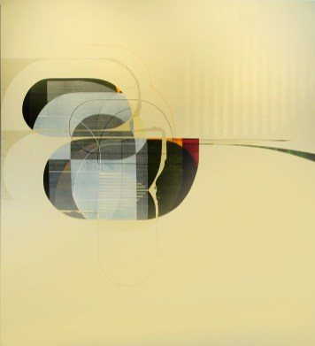 "Alex Couwenberg. Mikai, 2009. Acrylic on canvas. 72 x 66"". Southern California Art Projects and Exhibitions. Photo Courtesy of SCAPE"