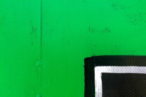 Brian Thomas Jones, Untitled (Green Black #1). Photo courtesy Durden and Ray.