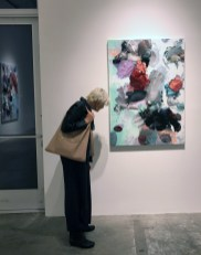 Opening night of André Hemer, Making-image at Luis De Jesus. Photo credit: Genie Davis.