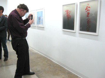 Opening night, Disappear Here at Durden and Ray. Photo credit: Patrick Quinn.