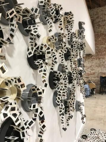 Obsolete by Tracey Weiss in Salvage at Art Exchange Exhibition Space; Photo credit Genie Davis