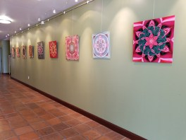 Karen Hochman Brown, Botanic Geometry, Crain Art Gallery; Photo credit Kristine Schomaker