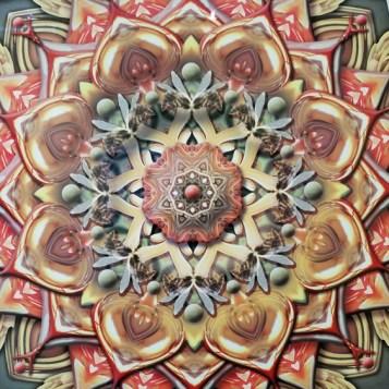 Karen Hochman Brown, Botanic Geometry, Crain Art Gallery; Photo credit Kristine Schomaker