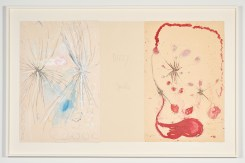 """Louise Bourgeois, """"Have a Little Courage"""", The Red Sky, Hauser & Wirth Los Angeles; Photo courtesy Hauser & Wirth"""