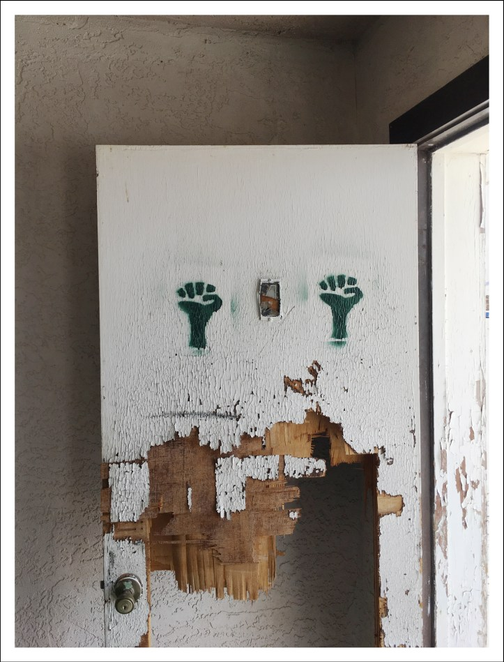 "Richard Misrach, ""Green fists, Coaldale Junction, Nevada"", Marc Selwyn Fine Art; Image courtesy of the gallery"