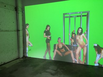 mind candy pfaffs_ 2015 digital video 2 hours. Petra Cortright. Cam Worls. UTA Artist Space. Photo Courtesy Shana Nys Dambrot