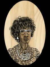 Shirley Chisholm by Red, the Artist, 100 Women and More, Soka University of America; Image courtesy of the artist