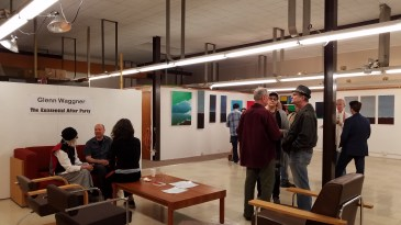 Glenn Waggner, The Existential After Party. Neutra Institute Gallery and Museum. Photo Credit Kristine Schomaker