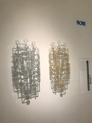 Co/LAB III, A Los Angeles - Berlin Collaboration at Torrance Art Museum. Photo Credit: Genie Davis.