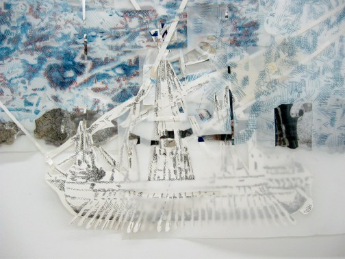 Fran Siegel - Navigation 2 . In the Stillness Between Two Waves of the Sea. Durden and Ray. Photo credit Patrick Quinn